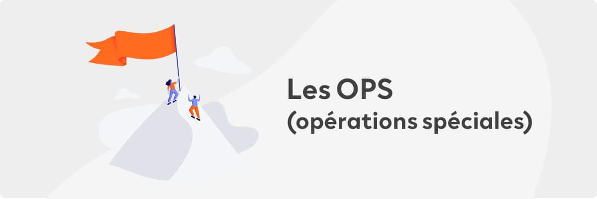 solutions OPS operations speciales leboncoin Publicité