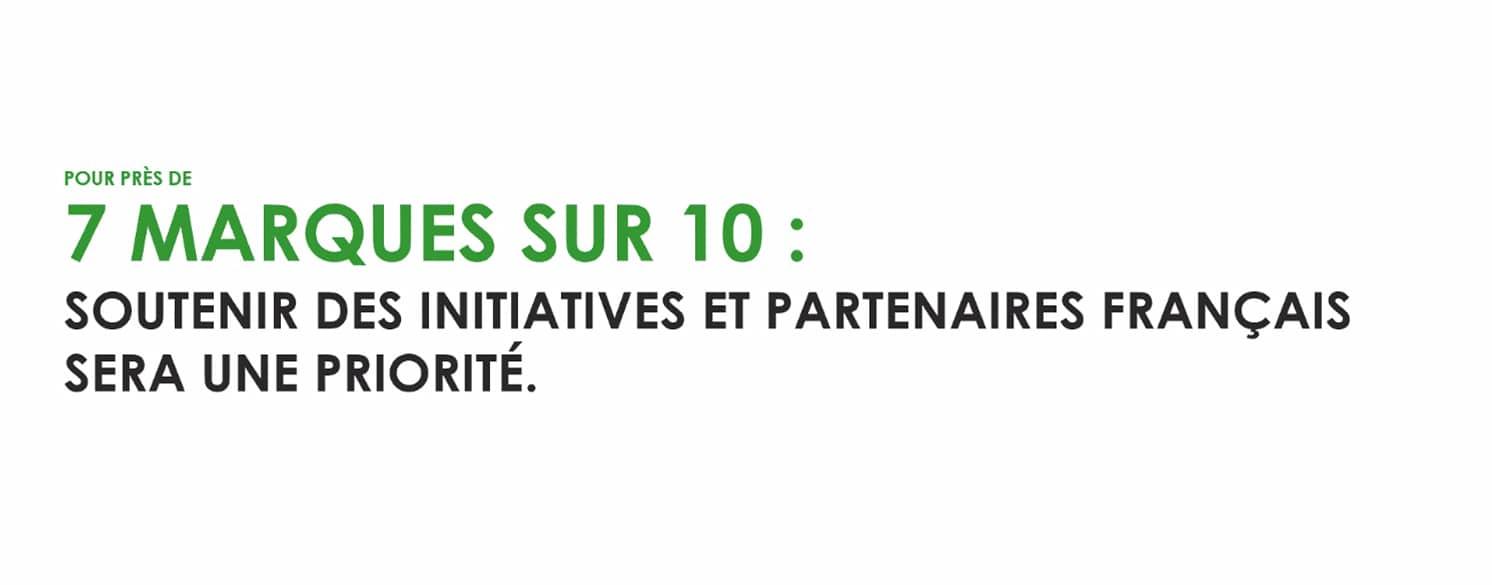 Soutenir la consommation locale et le made in France -Etude : comment les marques anticipent la sortie de crise ?