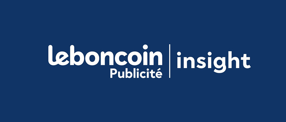 leboncoin publicite insight logo fond bleu