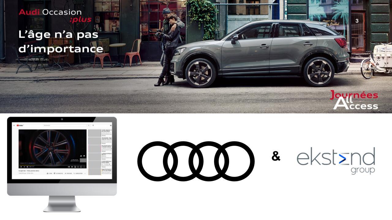 campagne publicite label AO Audi Occasion leboncoin