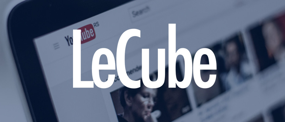 lancement nouvelle offre video avec youtube le cube